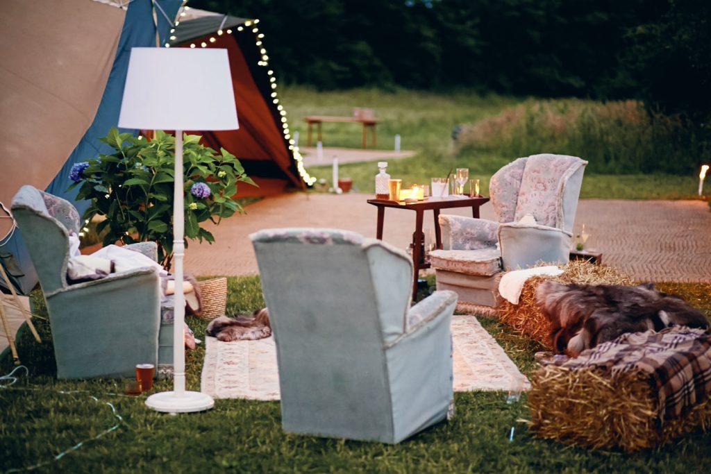 outside-furniture-at-festival-wedding